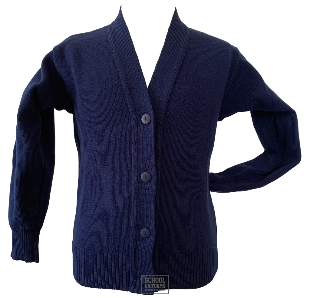 Navy Cardigan (Uncrested)