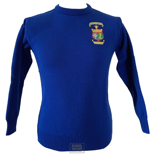 Rochfortbridge (St. Josephs) Girls Royal Blue Jumper