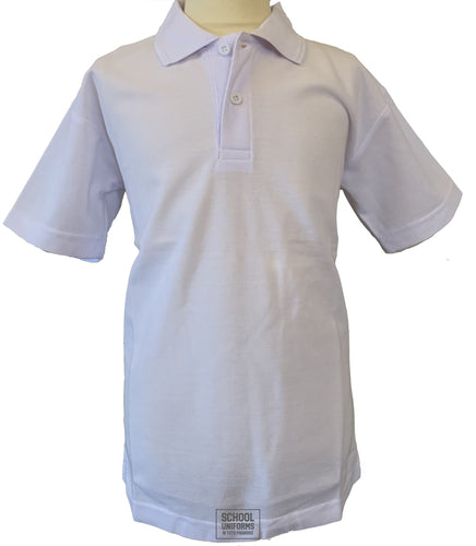 White Non-Crested Polo Shirt