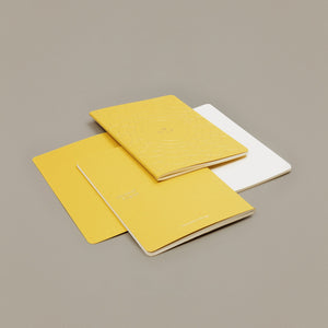 Caderno Indian Yellow