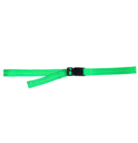 "Hi-Vis Green ""Mountain Stitch"" Magnetic Buckle Belt"