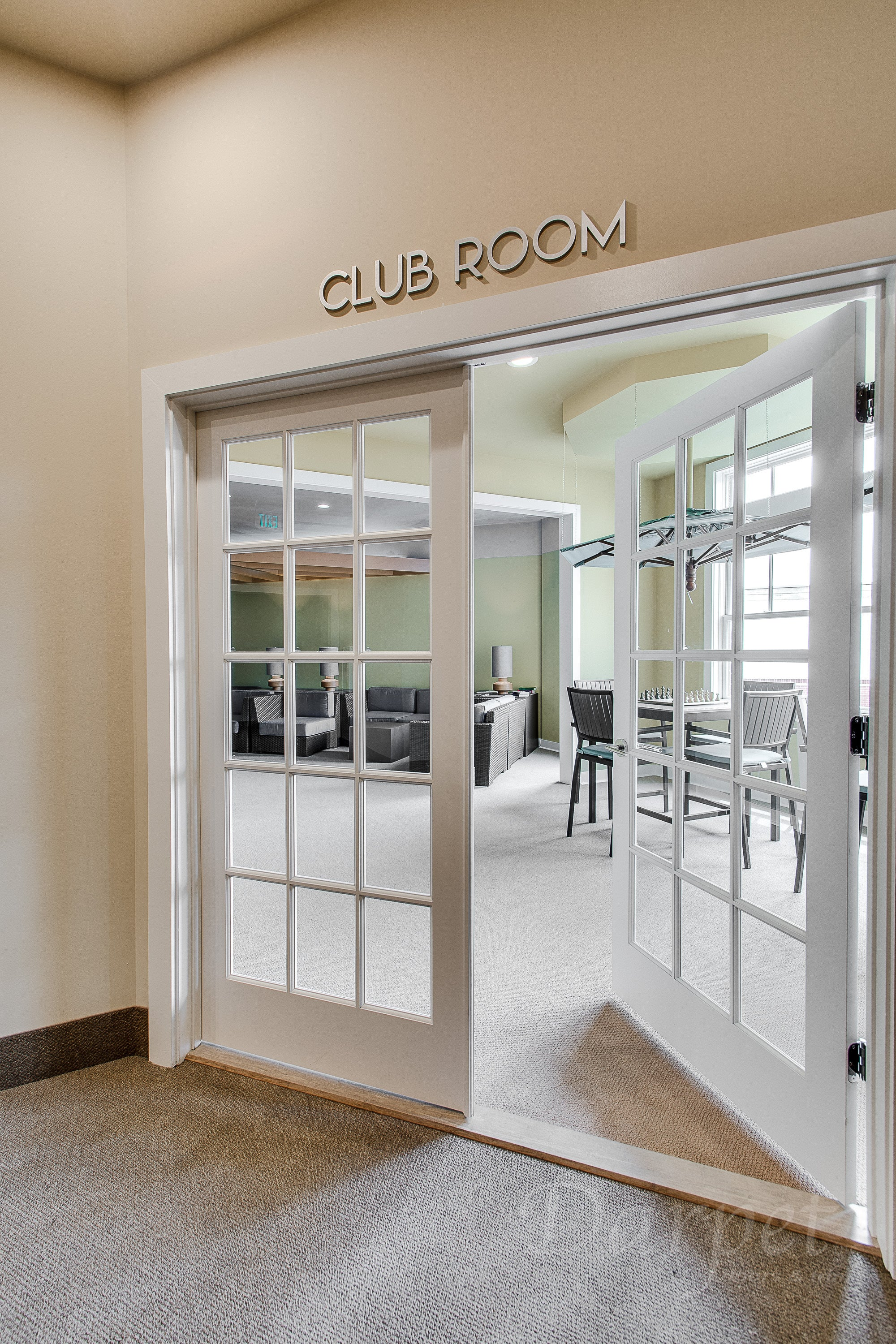 "15 Lite Clear Glass Poplar Door 7'-0"" (84"")"