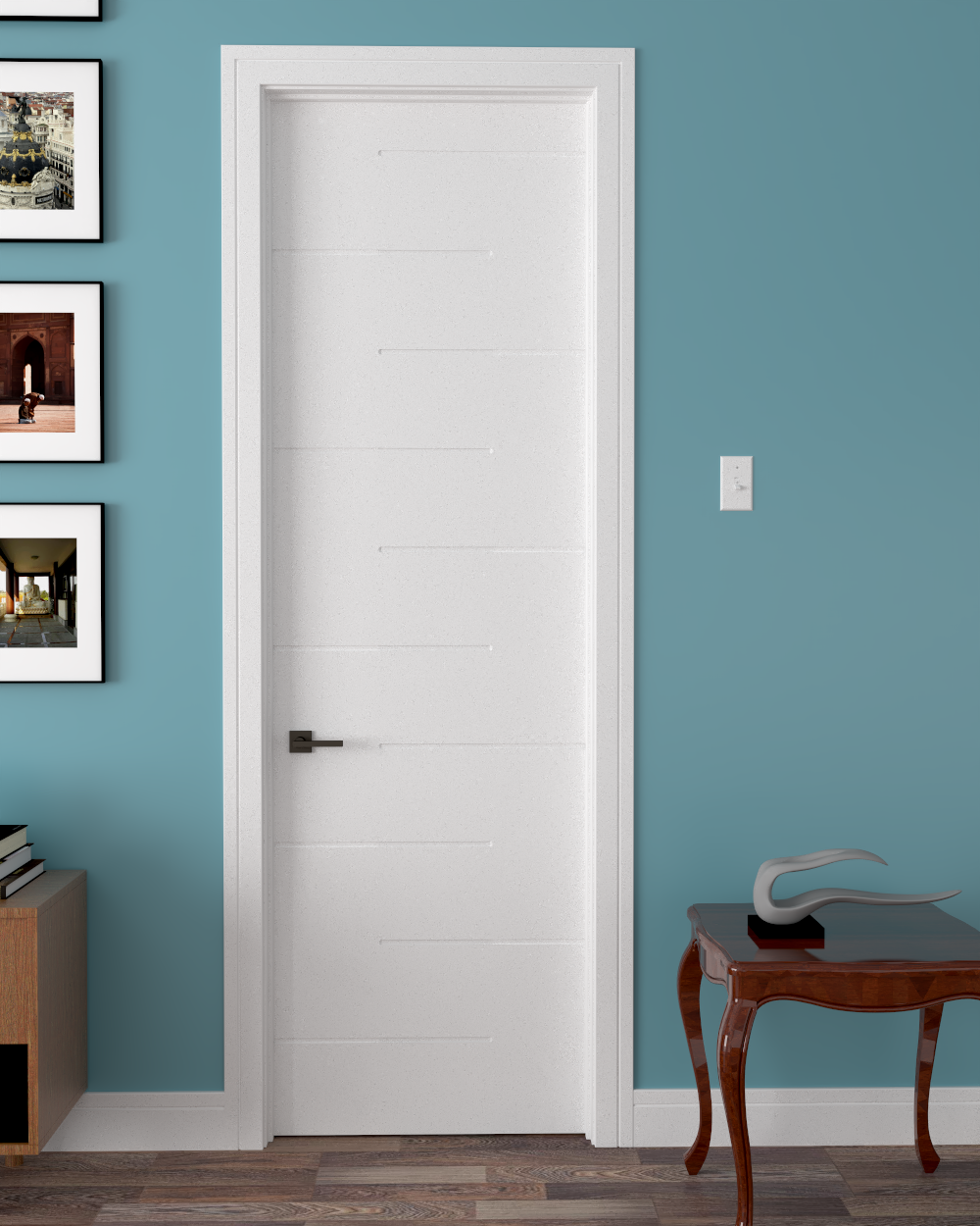 "Alba Primed Interior Door 8'0"" (96"")"