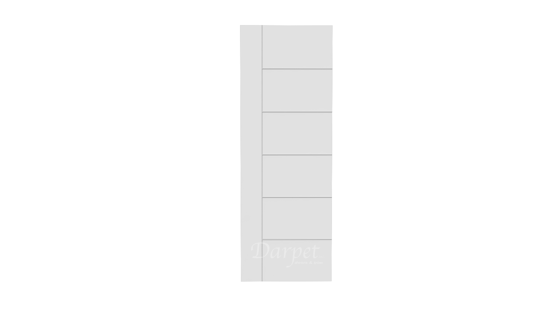 "Aria Primed Groove Interior Door 7'-0"" (84"")"