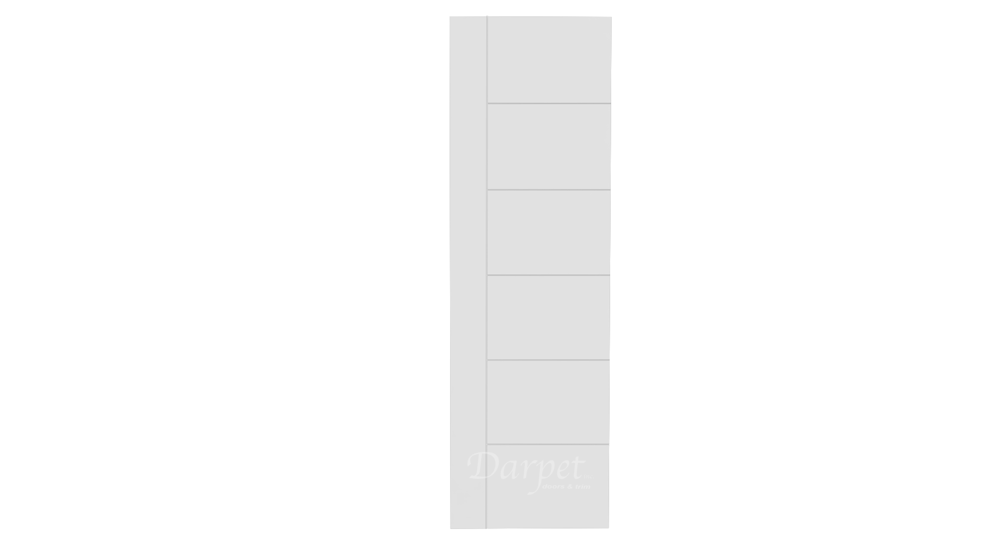 "Aria Primed Groove Interior Door 8'-0"" (96"")"
