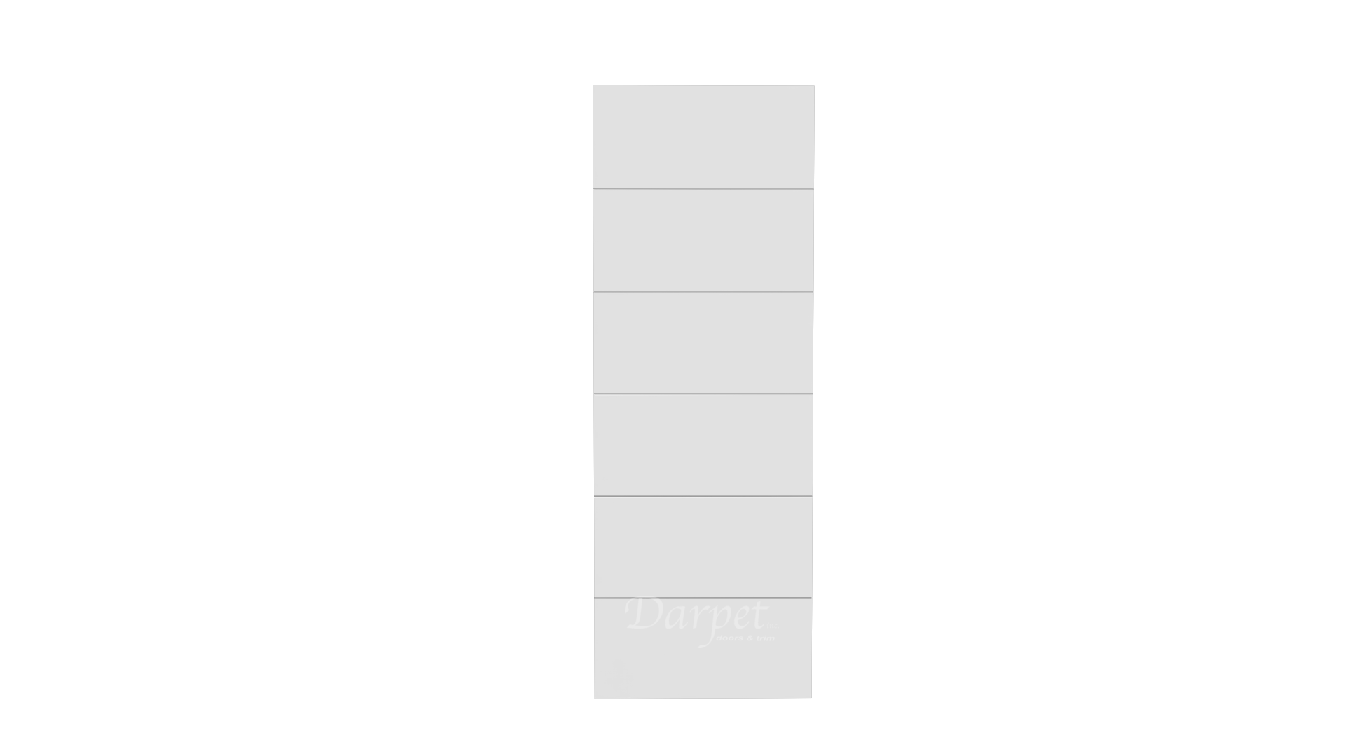 "Brio Primed Groove Interior Door 7'-0"" (84"")"