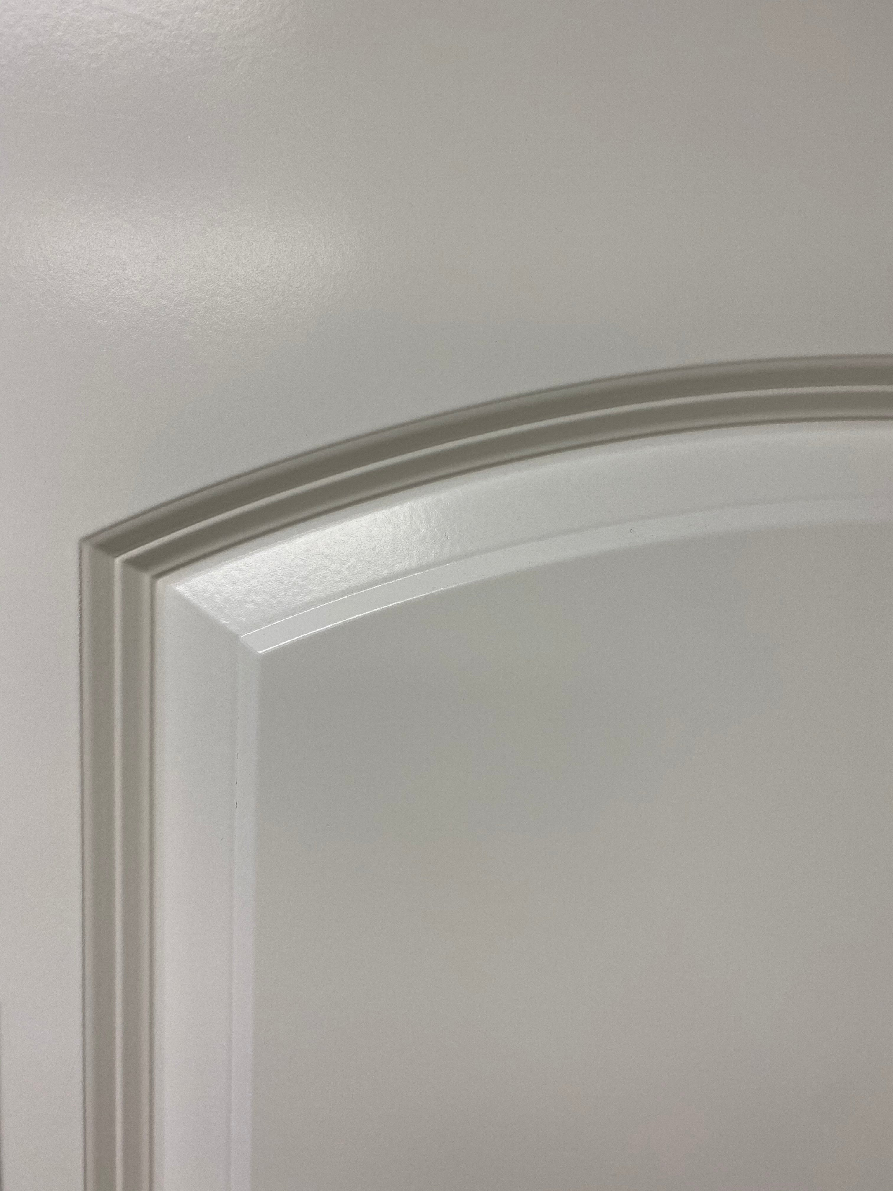 "2 Panel Arch Caiman Primed 8'-0"" (96"")"