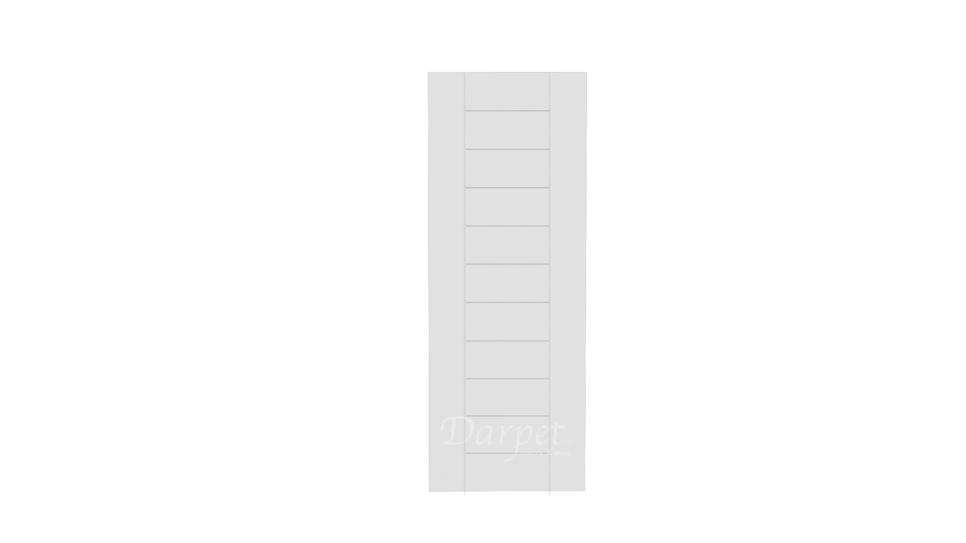 "Fava Primed Groove Interior Door 6'-8"" (80"")"
