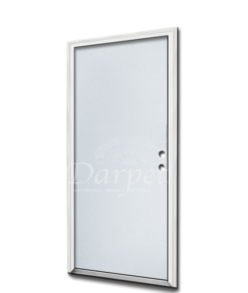 "Flush Smooth Steel Doors 6'8"" (80"")"