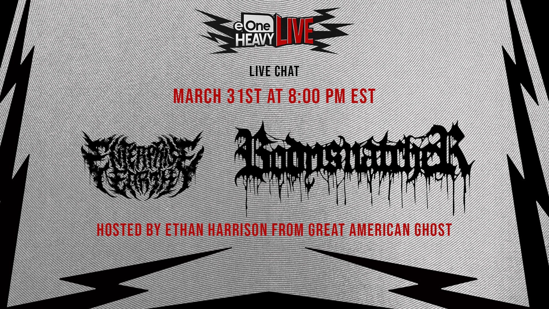 eOne Heavy Live Presents: Enterprise Earth and Bodysnatcher