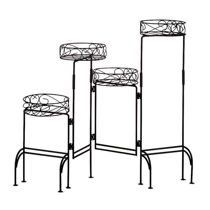 4-Tier Metal Plant Stand 31339