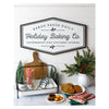 Holly Berry Holiday Baking Co. Metal Sign