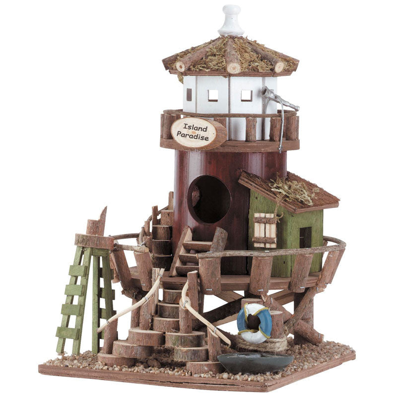 Lighthouse Station Bird House 34716