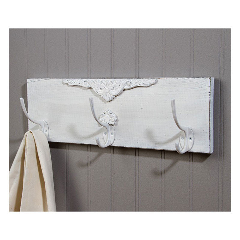 Shabby Chic Triple Wall Hook 36752