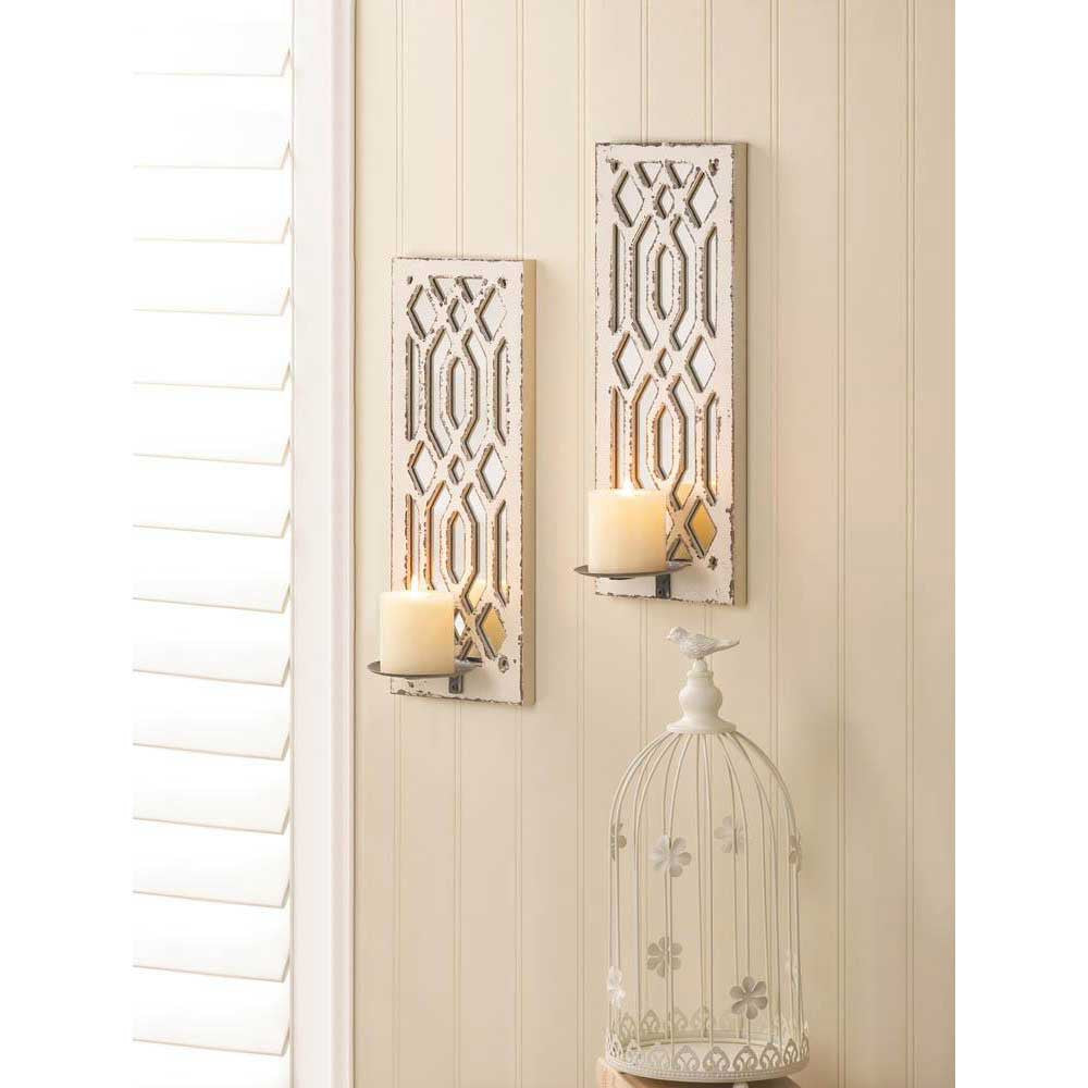 Art Deco Mirrored Wall Sconces 10017331