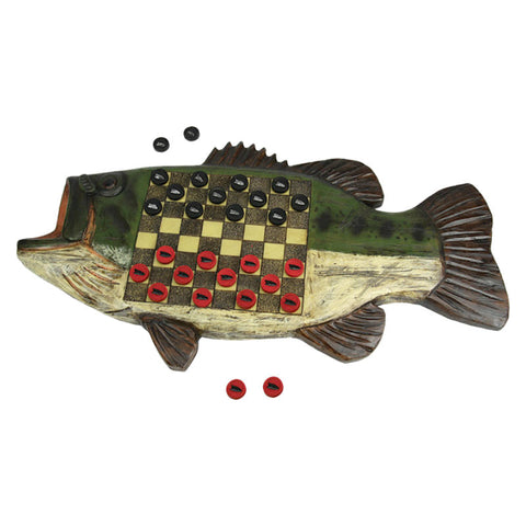 Bass Fish Checkerboard