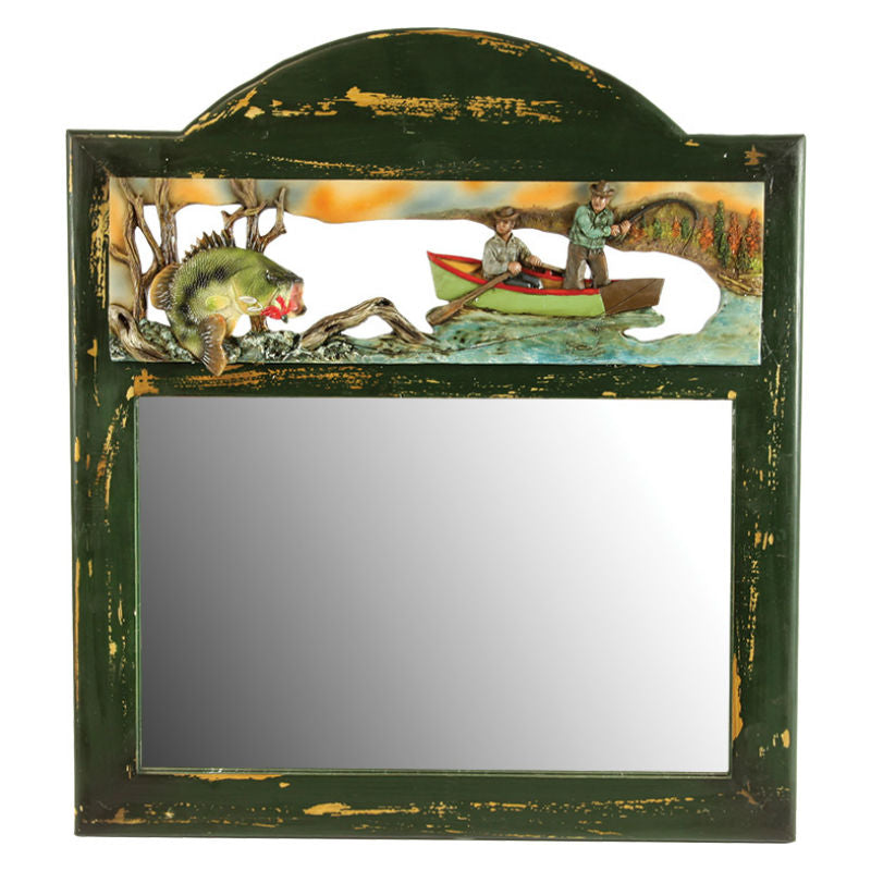 Bass Fishing Wall Mirror 963