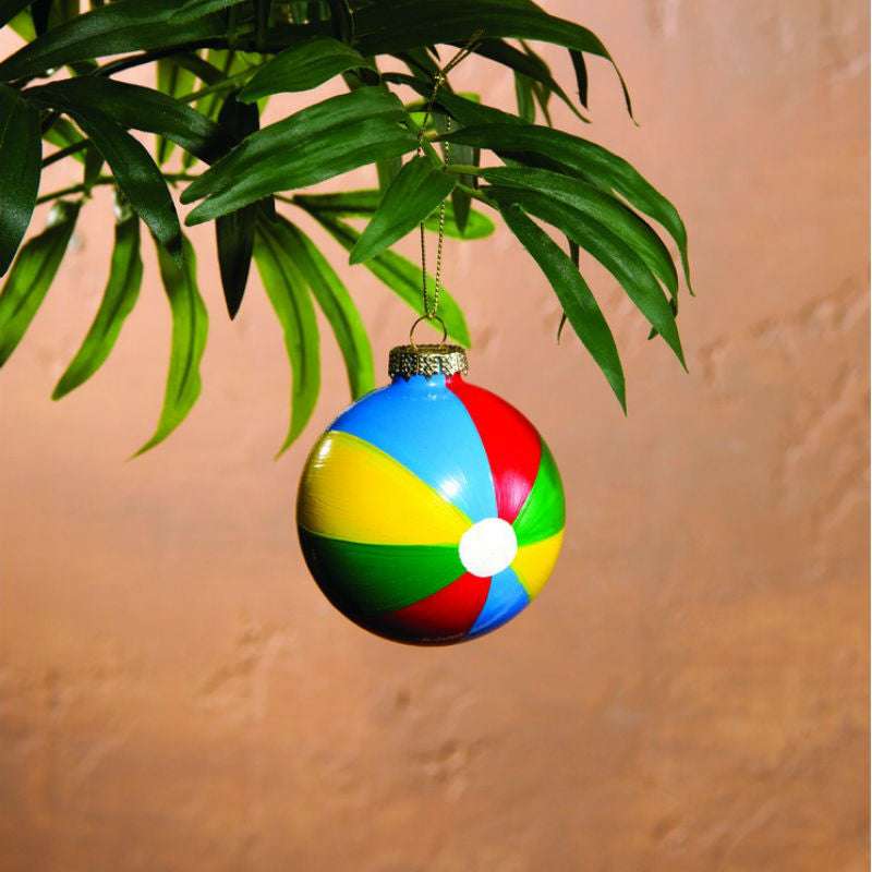 Beach Ball Christmas Ornaments 36179