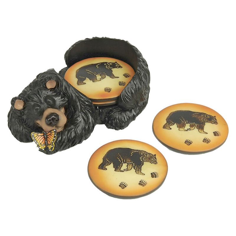 Bear Coaster Set 2044