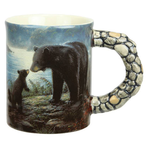 Bears Scene Ceramic Beverage Mug