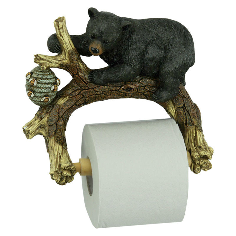 Black Bear Toilet Tissue Holder 486B