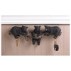 Black Bear Trio Wall Hooks 10016200