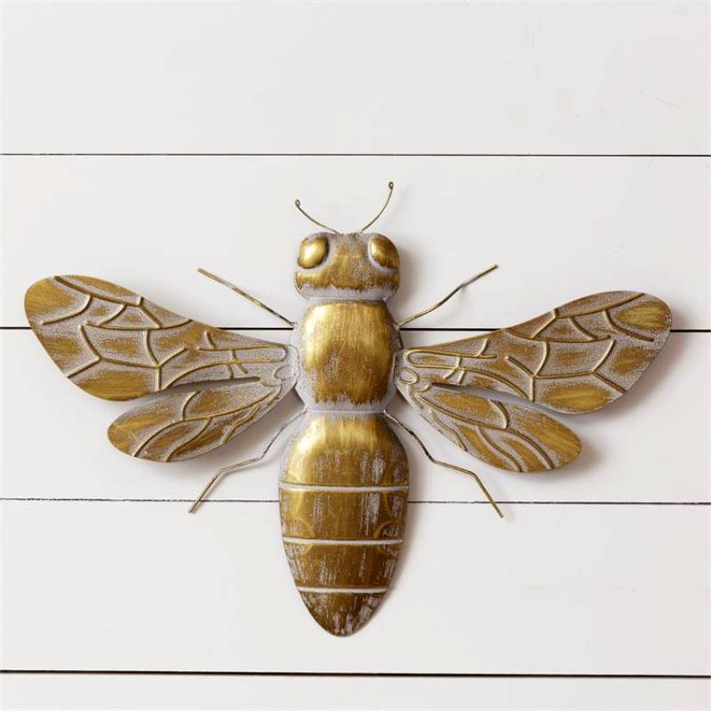 Brass Bumble Bee Wall Decor 51GR1677