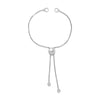 Button Charm Box Chain Bolo Bracelet 23537