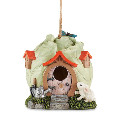 Cabbage Head Cottage Birdhouse