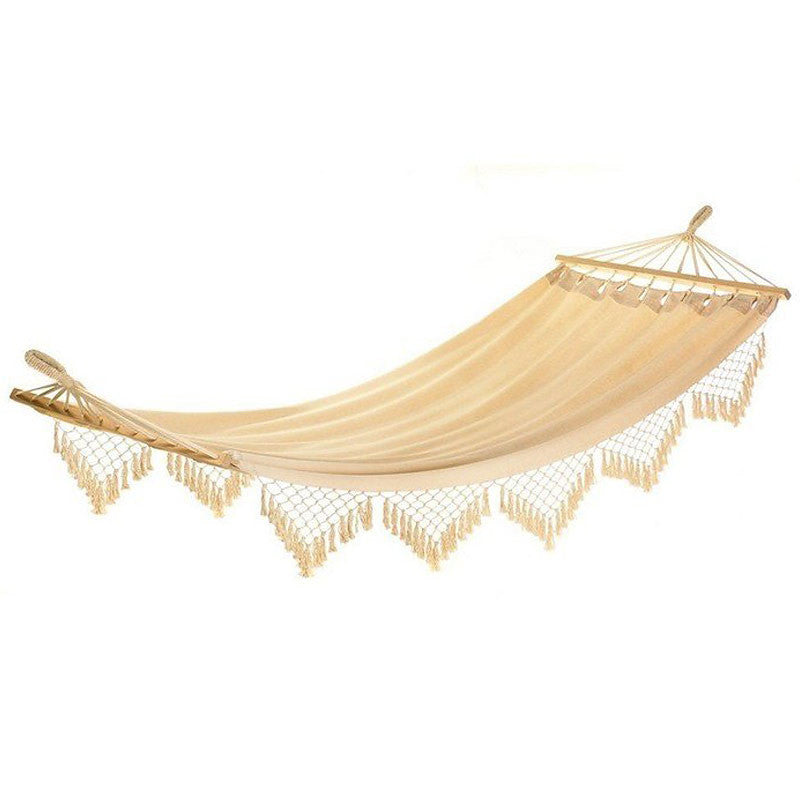 Cape Cod Style Canvas Crocheted Hammock 13000