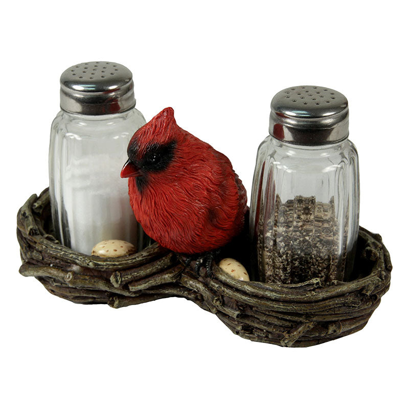 Cardinal Bird Salt and Pepper Shakers 543