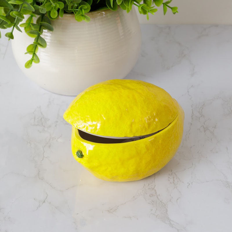 Ceramic Covered Lemon Dish 8PT1328