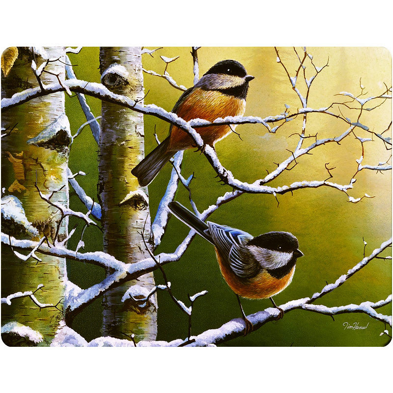 Chickadee Glass Cutting Board 734