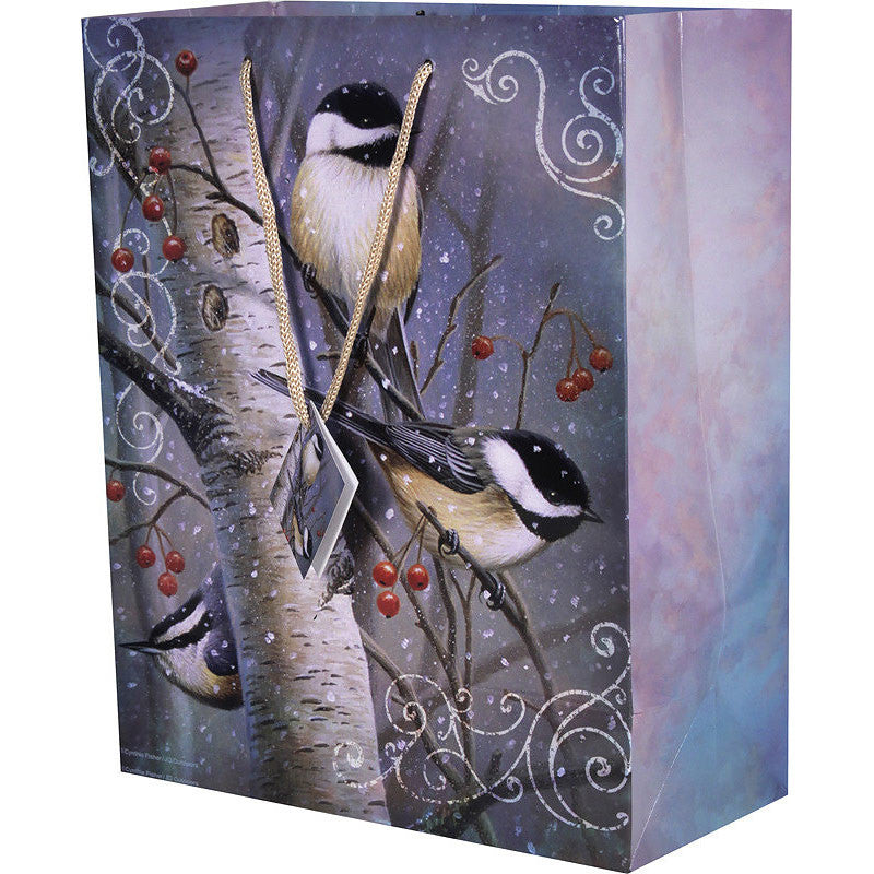 Chickadees Gift Bag 408