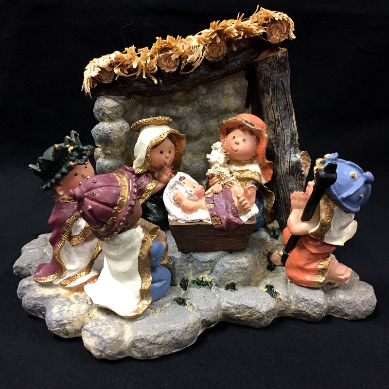 Childrens Nativity with Manger 1238890