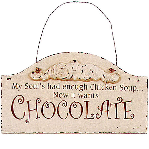 Chocoholics Chocolate Lovers Signs 28624