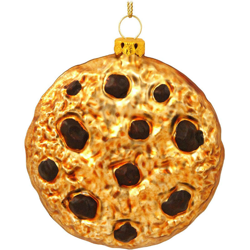 Chocolate Chip Cookie Glass Ornament 1151495