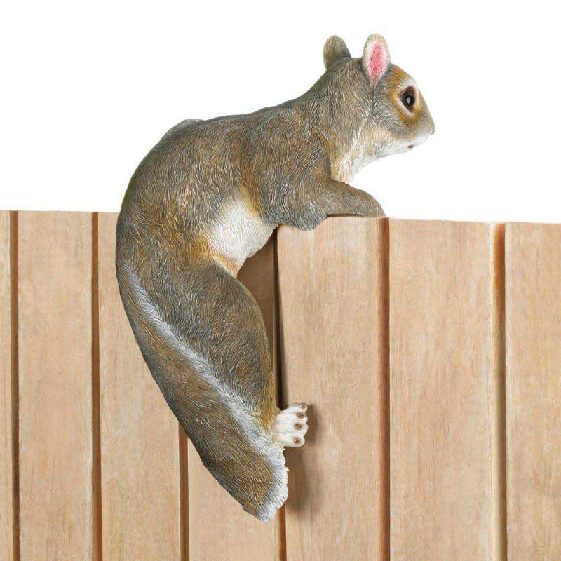 Climbing Squirrel Garden Figurine 10017279