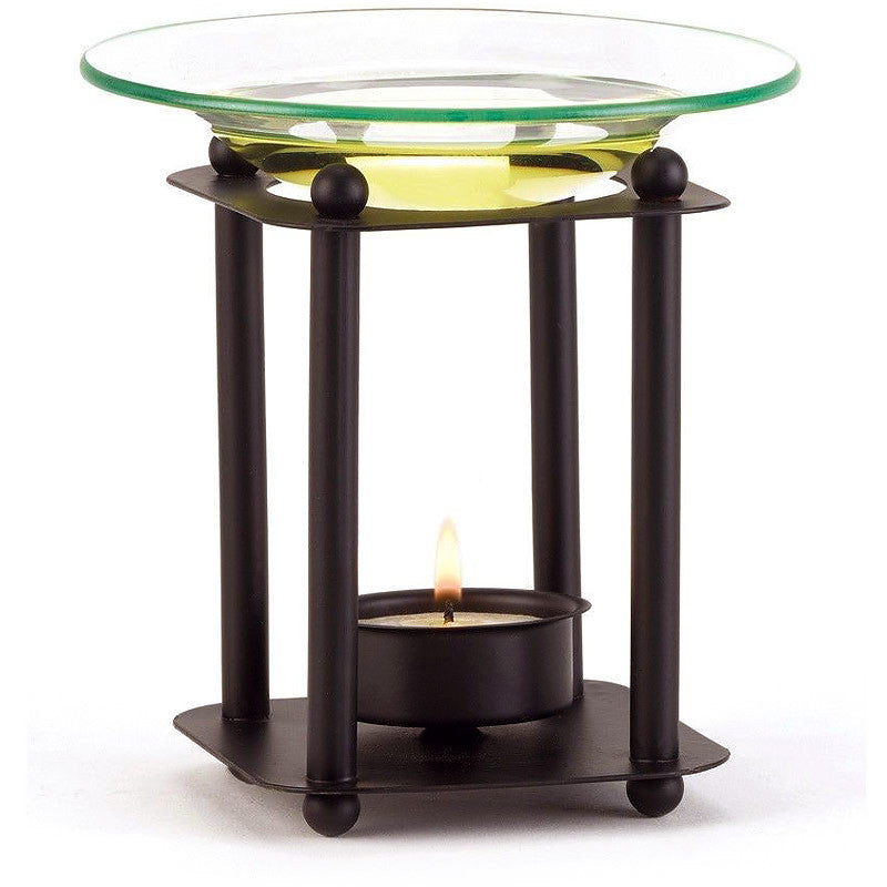 Contemporary Tea Light Fragrance Oil Burner 38217
