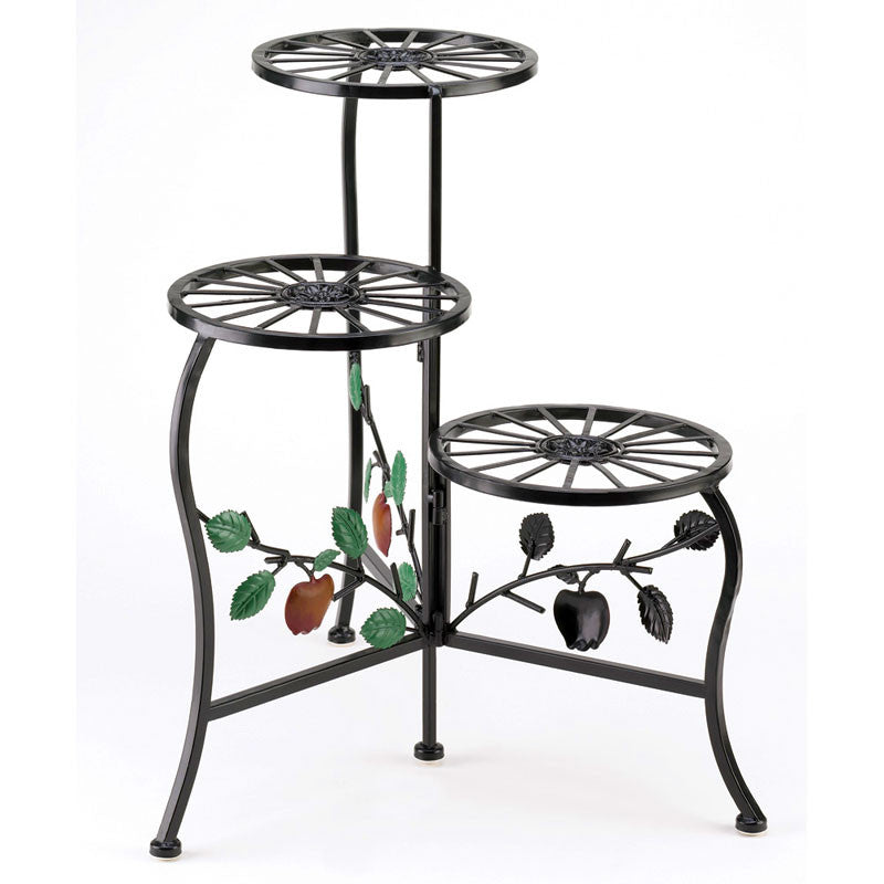 Country Apple Plant Stand 39857