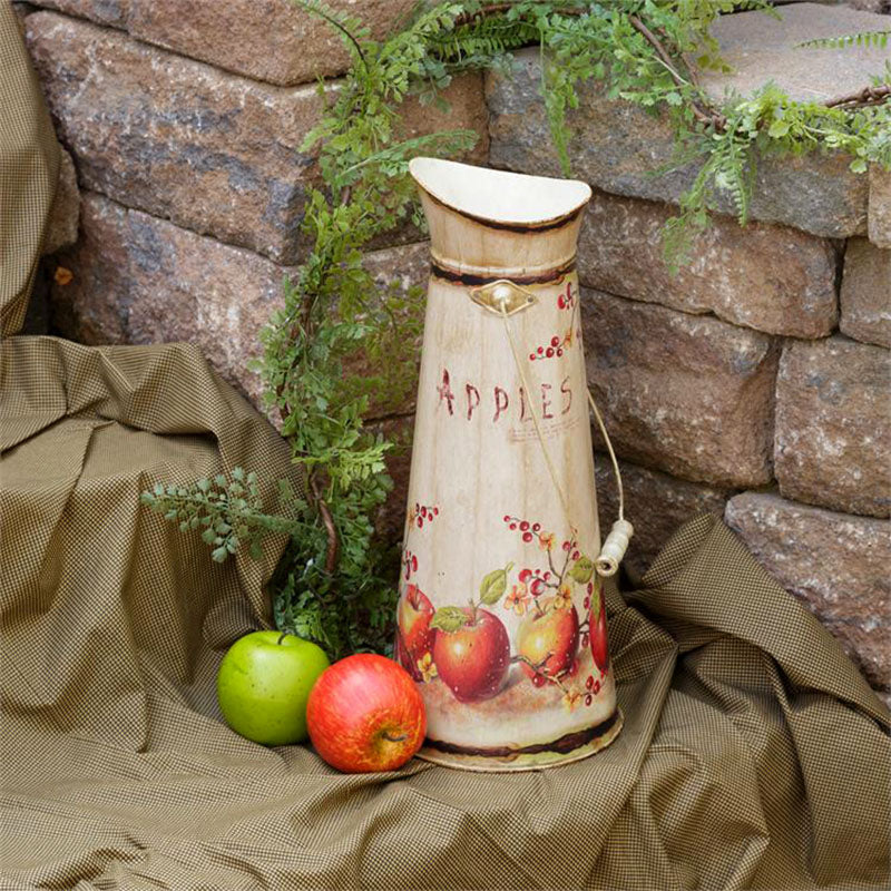Country Apples Decorative Pitcher 8T9786