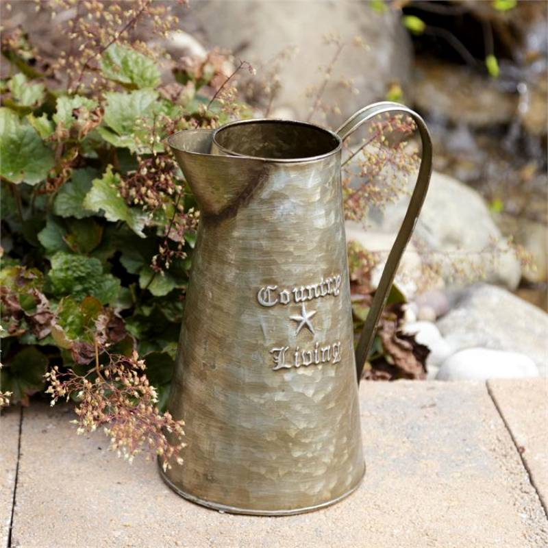 Country Living Metal Pitcher 8T9773