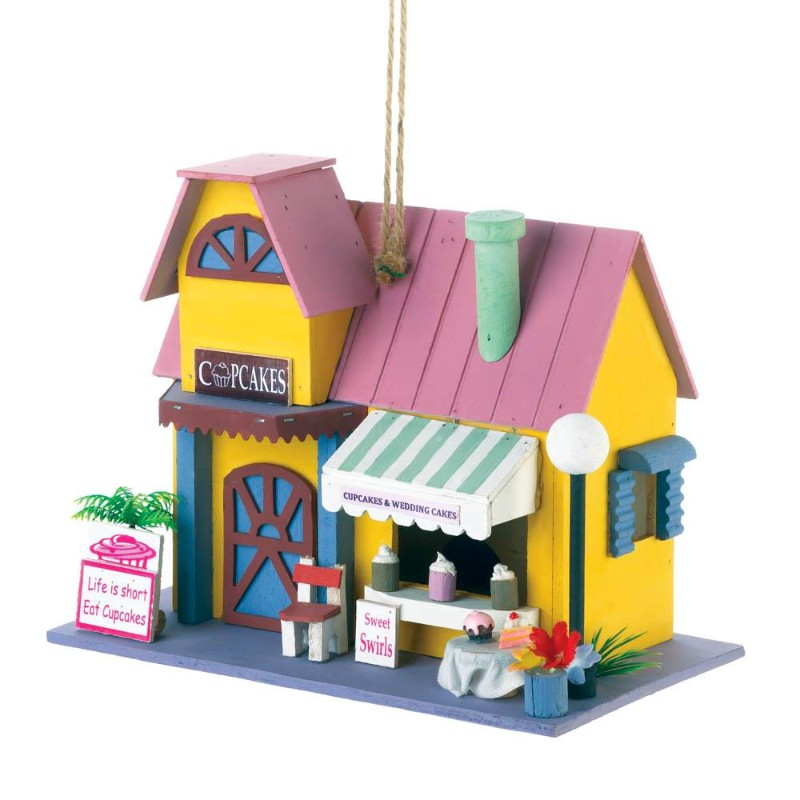 Cupcake Bakery Bird House 10018682