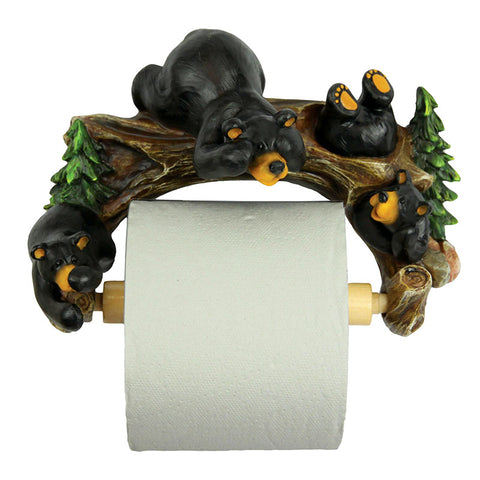 Cute Bears Toilet Paper Holder