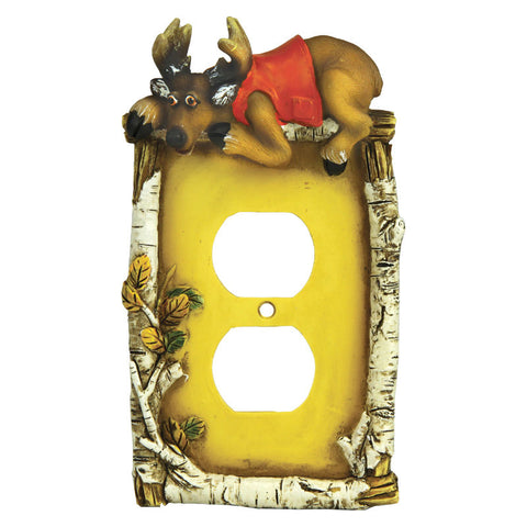Cute Deer Receptacle Cover