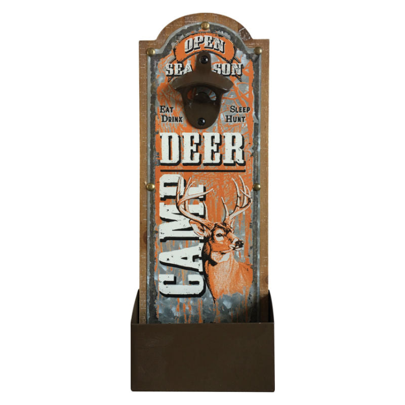 Deer Camp Galvanized Bottle Opener 2330