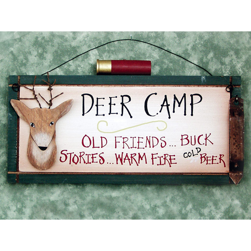 Deer Hunting Camp Signs 24510