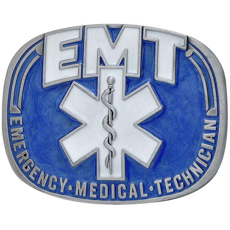 Emergency Medical Technician Belt Buckle G-1661