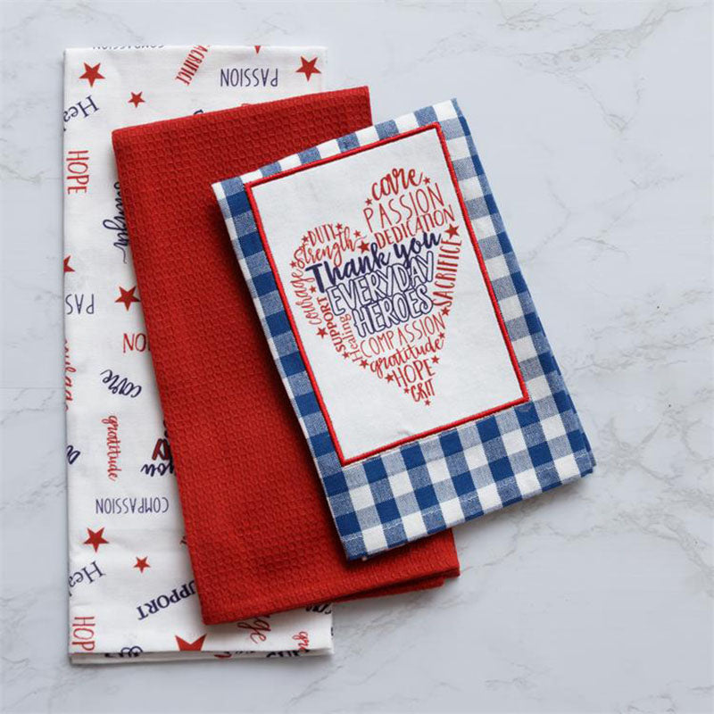 Everyday Heroes Kitchen Tea Towels 8FA1230