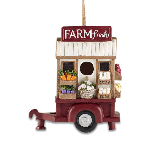 Farm Fresh Veggie Stand Birdhouse